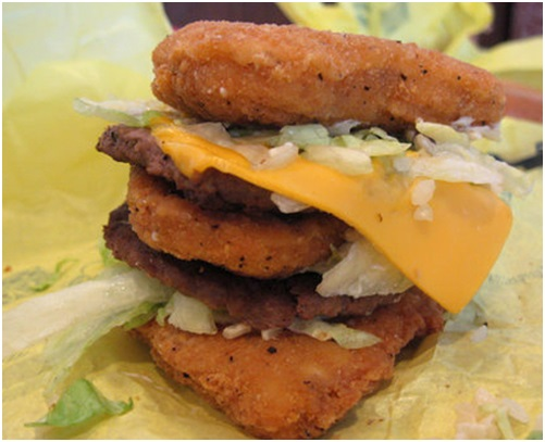 Big McChicken mcdonalds secret menu