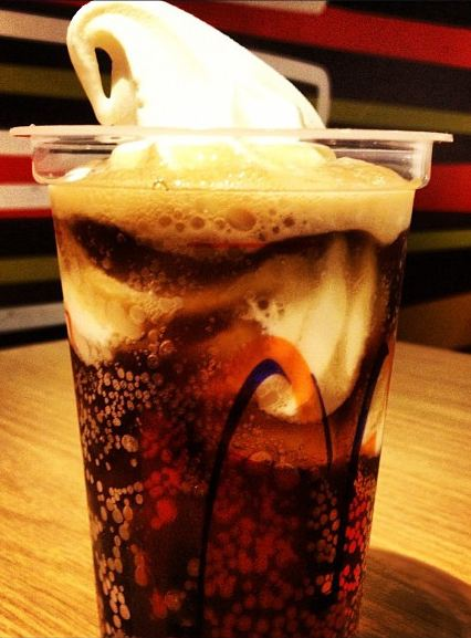 root beer float mcdonalds secret menu