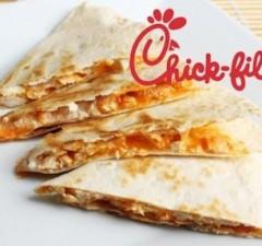 chick fil a secret menu chicken quesadilla