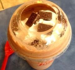 dairy queen secret menu frozen hot chocolate