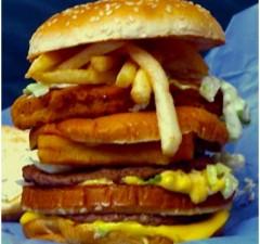 land air and sea burger mcdonalds secret menu