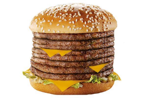 monster mac mcdonald's secret menu