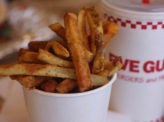 five guys secret menu fries well done