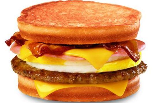 loaded grilled breakfast sandwich jack int he box secret menu