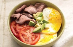 power breakfast egg bowl with steak panera bread secret menu