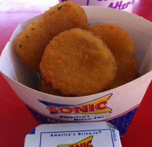 sonic secret menu pickle o's