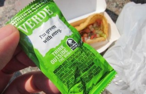 spicy green anything taco bell secret menu