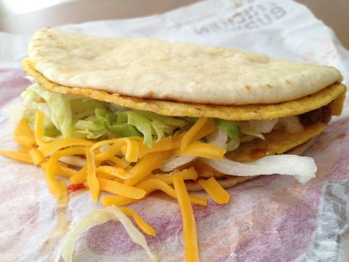 taco bell secret menu cheese gordita crunch