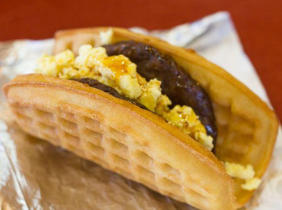 taco bell secret menu waffle
